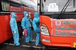 Phú Yên đón trên 800 công dân từ Đồng Nai về quê