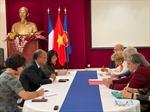 Hội Hữu nghị Pháp - Việt khẳng định tiếp tục đoàn kết, ủng hộ nhân dân Việt Nam