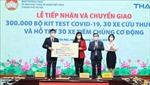 Hà Nội: Tiếp nhận ủng hộ và chuyển giao thiết bị y tế phòng, chống dịch