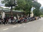 Bắt 206 thanh niên điều khiển mô tô đánh võng trên đường phố Tam Đảo