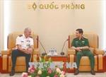 Thượng tướng Phan Văn Giang tiếp Tư lệnh Bộ Tư lệnh Thái Bình Dương Hoa Kỳ