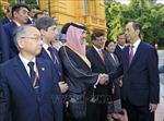 Chủ tịch nước Trần Đại Quang tiếp các Trưởng đoàn dự Đại hội ASOSAI lần thứ 14