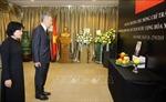 Thủ tướng Singapore Lý Hiển Long viếng Chủ tịch nước Trần Đại Quang
