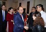 Thủ tướng Nguyễn Xuân Phúc gặp cộng đồng người Việt tại Bỉ
