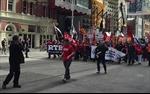 Đình công gây tê liệt giao thông ở thành phố Melbourne, Australia