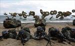 500 binh sỹ Mỹ - Hàn tham gia cuộc tập trận thủy quân lục chiến