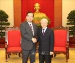 Tổng Bí thư, Chủ tịch nước Nguyễn Phú Trọng tiếp Đoàn đại biểu Đảng Cộng sản Nhật Bản