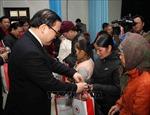 Bí thư Thành ủy Hà Nội tặng quà Tết cho các hộ dân hoàn cảnh khó khăn