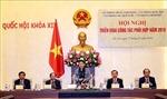 Chủ tịch Quốc hội dự Hội nghị triển khai công tác phối hợp giữa bốn Văn phòng Trung ương