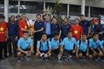 Đội tuyển Việt Nam đã đến Campuchia dự giải U22 Đông Nam Á