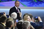 Tổng thống V. Putin tuyên bố đáp trả hoạt động triển khai tên lửa tại châu Âu