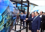 Thủ tướng kiểm tra Trung tâm Báo chí quốc tế phục vụ Hội nghị Thượng đỉnh Mỹ-Triều lần thứ 2