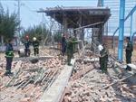 Khởi tố vụ sập tường nhà xưởng đang thi công làm 8 người thương vong tại tỉnh Vĩnh Long