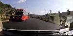 Phạt tiền, tước giấy phép lái xe 5 tháng với tài xế chạy xe ngược chiều trên cao tốc