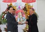 Chủ tịch Ủy ban Trung ương MTTQ Việt Nam chúc mừng Lễ Phục sinh tại Phan Thiết