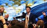 Bầu cử tổng thống Ukraine: Lãnh đạo nhiều nước chúc mừng danh hài Volodymyr Zelensky