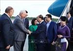 Thủ tướng Nguyễn Xuân Phúc tới Saint Petersburg bắt đầu thăm chính thức Liên bang Nga