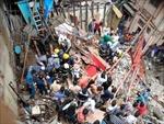 Sập tòa nhà 4 tầng tại Mumbai: 4 người chết và 12 người vẫn mắc kẹt
