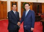 Quan hệ hai nước Việt Nam - Lào đang tiếp tục phát triển tốt đẹp