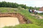Trồng cây, đào ao trên đất dự án cao tốc Bắc - Nam