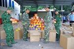 Lạng Sơn: Phát hiện số lượng lớn pháo nổ giấu trong các thùng hàng nông sản