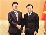 Phó Thủ tướng Chính phủ Trịnh Đình Dũng tiếp Tổng Giám đốc Công ty phát triển tài sản Lotte