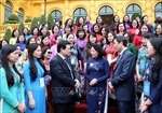Phó Chủ tịch nước Đặng Thị Ngọc Thịnh gặp mặt cán bộ quản lý, nhà khoa học nữ ngành giáo dục