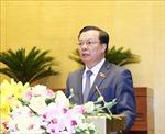 Quốc hội cho ý kiến về nợ đọng thuế, Luật Chứng khoán