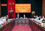 Hưng Yên cần chuẩn bị các điều kiện tốt nhất cho Đại hội Đảng bộ các cấp