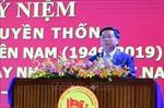 Đồng chí Nguyễn Xuân Thắng dự kỷ niệm 70 năm truyền thống Trường Đảng miền Nam