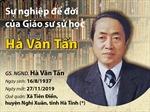 Giáo sư Hà Văn Tấn - Vị 'Đại sư' của làng sử học và khảo cổ