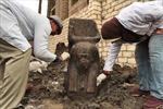 Ai Cập phát hiện tượng bán thân quý hiếm của vị vua cổ đại nổi tiếng Ramses II