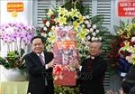 Chủ tịch Ủy ban Trung ương MTTQ Việt Nam chúc mừng Giáng sinh tại Tòa Giám mục Cần Thơ