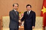 Phó Thủ tướng Trịnh Đình Dũng tiếp Đại sứ Trung Quốc