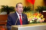 Phó Thủ tướng Trương Hòa Bình tham dự nhiều hoạt động tại WEF Davos lần thứ 50