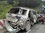 Tai nạn ô tô liên hoàn trên Quốc lộ 6 ở Sơn La
