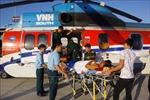 Điều trực thăng cứu nạn ngư dân ở ngư trường Trường Sa