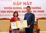 Gương mặt trẻ tiêu biểu Nguyễn Thị Oanh: Coi khó khăn là động lực để giành vinh quang