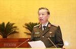Bộ trưởng Tô Lâm: Tập trung phòng, chống dịch COVID-19 nhưng không sao nhãng nhiệm vụ