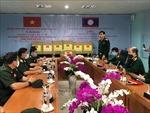 Bộ Quốc phòng Việt Nam gửi hàng viện trợ và cử chuyên gia y tế giúp Lào chống dịch COVID-19