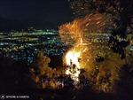 Rạng sáng 26/5, rừng trên núi Sọ vẫn cháy, lực lượng chức năng không thấy tại hiện trường
