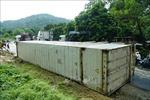 Lật xe container tại 'điểm đen' Nà Lơi