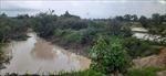 Khai thác cát gây ô nhiễm suối Đá