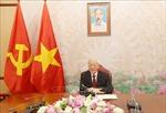 Nhân 25 năm quan hệ Việt Nam-Hoa Kỳ: Trao đổi thư, điện mừng giữa lãnh đạo hai nước