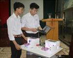 Học sinh Ninh Bình với sáng kiến 'Hệ thống quản lý giờ học thông minh'