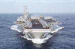 Tàu sân bay của Mỹ tập trận bắn đạn thật tại Địa Trung Hải