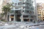 Điện chia buồn vềhai vụ nổ tại cảng Beirut, Liban
