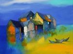 Mở cửa triển lãm tranh của các họa sỹ đương đại hàng đầu trên thị trường mỹ thuật