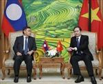 Hợp tác, kết nối toàn diện giữa MTTQ Việt Nam và Mặt trận Lào xây dựng đất nước