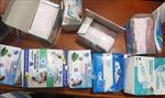 Hà Tĩnh bắt giữ xe ô tô tải chở số lượng lớn khẩu trang y tế không có hóa đơn chứng từ
